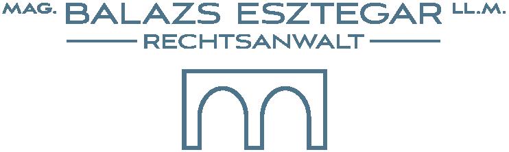Logo Kanzlei Mag. Balazs Esztegar 1080 Wien