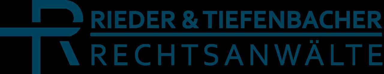 Logo Kanzlei Rieder & Tiefenbacher Rechtsanwaelte