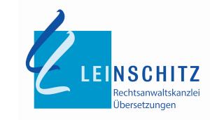 Logo Kanzlei Anwältin MMag. Leinschitz in 1040 Wien