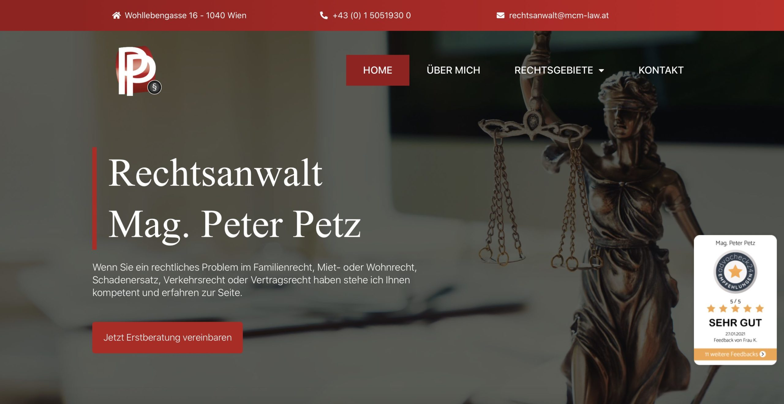 Bsp6 Empfehlungssiegel advocheck24