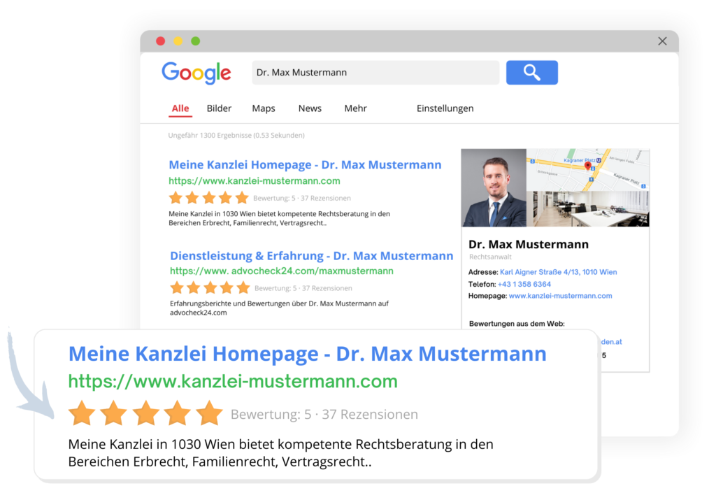 Suchmaschinen-Vorschau-advocheck24-Auffindbarkeit-1024x705